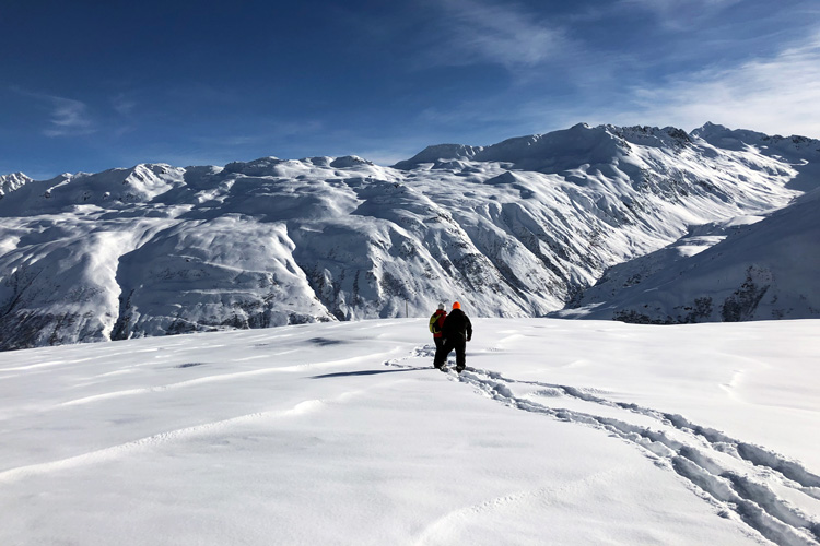 Swisspecial - Private Guiding in Switzerland - Trips - Snow Acitve Day 1